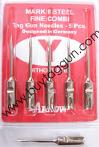 tag needles mark II steel